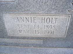 Annie Holt Rye (1898-1991) - Find A Grave Memorial