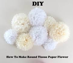 Tissue Paper Flower Tutorials Diy How To Make A Round Tissue Paper Flower Daymoms Com