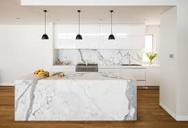 melbourne marble countertops cost kitchen contemporary with black pendant lights transitional serving trays modern white