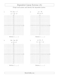 dependent linear systems a best solutions of algebra 2 solve each system by graphing quadratic equations algebra 2 worksheet