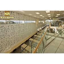 aluminum facade wall art panels