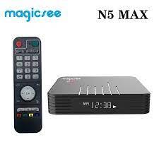 Magicsee N5 Max Amlogic S905X3 Android 9.0 TV BOX 4GB RAM 32GB 64GB ROM  2.4+5G Dual Wifi Bluetooth4.1 Smart Box 8K Set Top Box|Set-top Boxes
