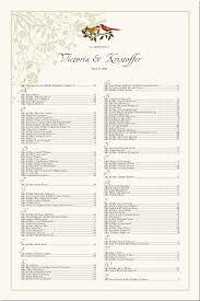 Bird Themed Wedding Seating Chart Asian Wedding Seating
