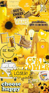 Cute Aesthetic Yellow Wallpapers ...
