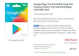 We did not find results for: Woolworths Is Offering 10 Off Google Play Gift Cards Ausdroid