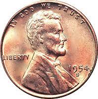 1944 S Wheat Penny Value Chart 1954 S Wheat Penny Value Cointrackers