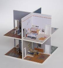Popup Book Templates Pop Up Paper House You Can Make Yourself Either Download A Template