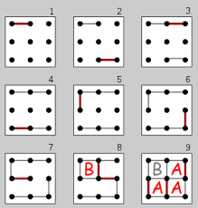 Connect the dots is a fun way for children to practice counting. Dots And Boxes Wikipedia