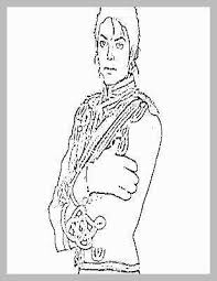 Michael Jackson Smooth Criminal Coloring Pages Admirably Printable