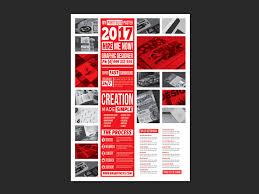 portfolio poster template for photoshop illustrator a4 portfolio template