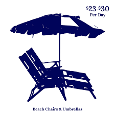 Beach umbrella and chair Beach Towel Iop Beach Chair Company Has Been In The Business For Over 20 Years And Customer Service And Satisfaction Have Always Served As Our Number One Priority Sharons Linens Beach Rentals Rent Beach Chairs Umbrellas Iop Beach Chair Co