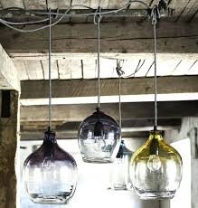 hand blown glass lighting eclectic hand blown glass pendant lights hand blown glass lamp shades