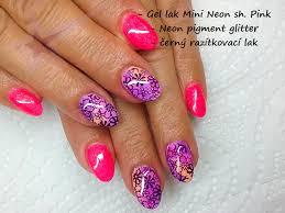 Neonový Sugar Glitter Růžový P209