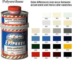 Epifanes Colour Chart Epifanes