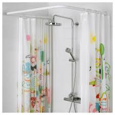 vikarn shower curtain rod ikea regarding brilliant house circular shower curtain rail ikea prepare