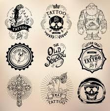 Vektorová Grafika Studio Lebka Tetování Staré školy 90362392