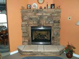 faux stone veneer fireplace artificial stone veneer fireplace