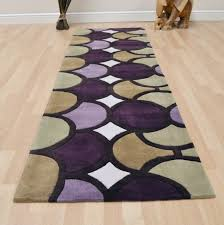 purple hall runner rugs