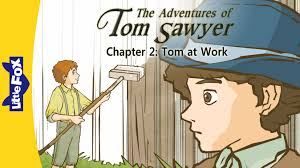 the adventures of tom sawyer tom at work level by little the adventures of tom sawyer 2 tom at work level 6 by little fox