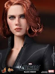 the avengers hot toys black widow collectible action figure geektyrant