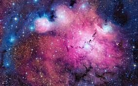 Free download galaxy Glow nebula Pink ...