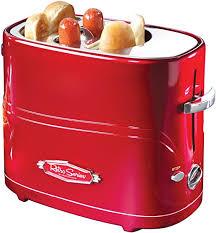Nostalgia HDT600RETRORED Pop-Up 2 Hot Dog ... - Amazon.com