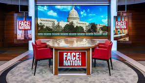 Tv studio furniture News Anchor Cbs Face The Nation Studio In Washington Creative Market Qa Jack Morton Reimagines face The Nation With Flexible Space