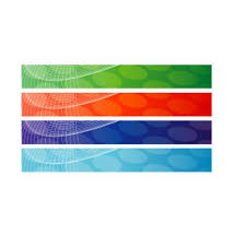 free banner backgrounds abstract banner backgrounds in green red blue purple download free