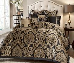 baby nursery outstanding black and gold bedding sets for adding luxurious bedroom decors classy bed