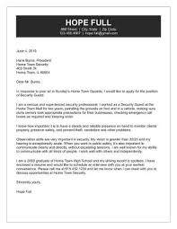 security cover letter samples security guard cover letter