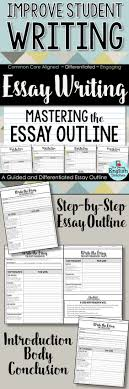 english high school english and student on pinterest guide students step by step through the essay writing process with this guided essay