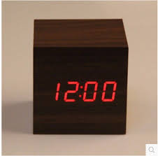 antique office mood vintage digital clock led retro table personalized brief art clock silent watch gift small electronic clock in desk table clocks from