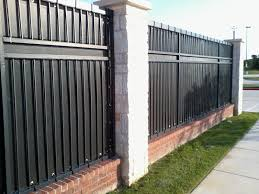 Image of: Metal Fence Privacy Screen