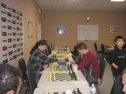 chess mates blog saturday winners bobby demarco 1 in the red shirt plays the alekhine against o connor while b jacobson watches another game