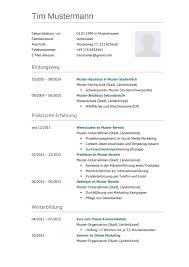 Lebenslauf Muster F R Techniker Lebenslauf Designs