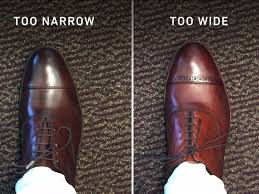Allen Edmonds Width Size Chart How To Know Your Dress Shoes Dont Fit Business Insider