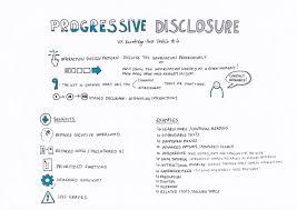 Ux Patterns Unique Progressive Disclosure UX Knowledge Base Sketch
