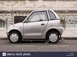 G Electric G Wiz G Whiz Electric Car Parked In Westminster London Stock Photo