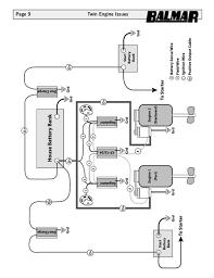 12 v alternator manual w 90series drawing Twin Alternator Wiring Diagram page 9 twin engine issues dual alternator wiring schematic