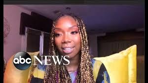 Brandy on emotional new album - YouTube