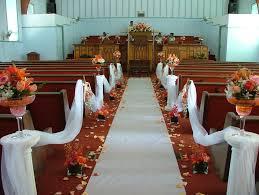 minimalist wedding decorations for church