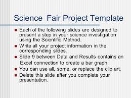 Template For Science Fair Project Science Fair Project Template Ppt Download