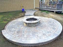 paver patio with fire pit. Simple Fire Paver Fire Pit Patio Ideas  And Paver Patio With Fire Pit