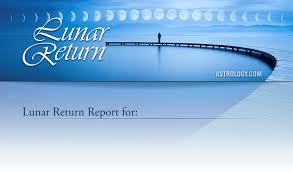 Lunar Return Chart Free Lunar Return Reading