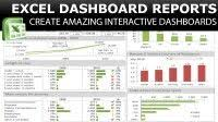 Udemy Dashboard Designing And Interactive Charts In Excel Excel Dashboard How To Create A Dashboard In Excel Udemy