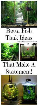 betta fish tank setup ideas