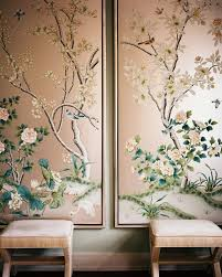 Hand Painted & Chinoiserie Wall Panels :: This Is Glamorous With Regard To  Chinoiserie Wall