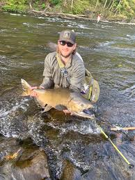 Solid One From My 2018 Trip To New York Echo 7wt 10 Switch