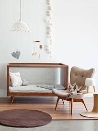 Stylish modern cot and nursery style. From the March/April 2011 edition of