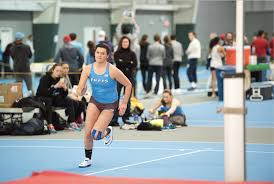 bowman sets record in the mile to lead jumbos at bu